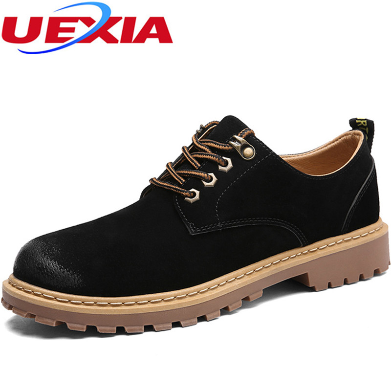 New Formal Dress Men Shoe Autumn Leather Martin Shoes for Male Leather Casual Social Vintage Wedding Footwear Breathable Oxfords