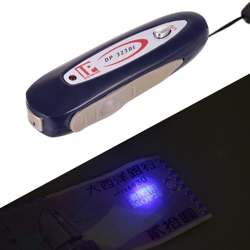 2 в 1 портативный мини-детектор поддельный денежный банкнот Проверка тестер с магнитным и УФ-светильник для USD евро фунт