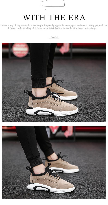2018 Spring/Autumn Men's Vulcanize Shoes Fashion Sneakers Men Casual Shoes Flats Men Shoes Chaussure Homme Designer Sneakers 15