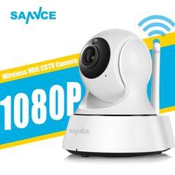 SANNCE 1080P Full HD Mini Беспроводной Wi-Fi Камера Sucurity IP CCTV Камера сети Wi-Fi наблюдения Смарт IRCUT Ночное видение Onvif