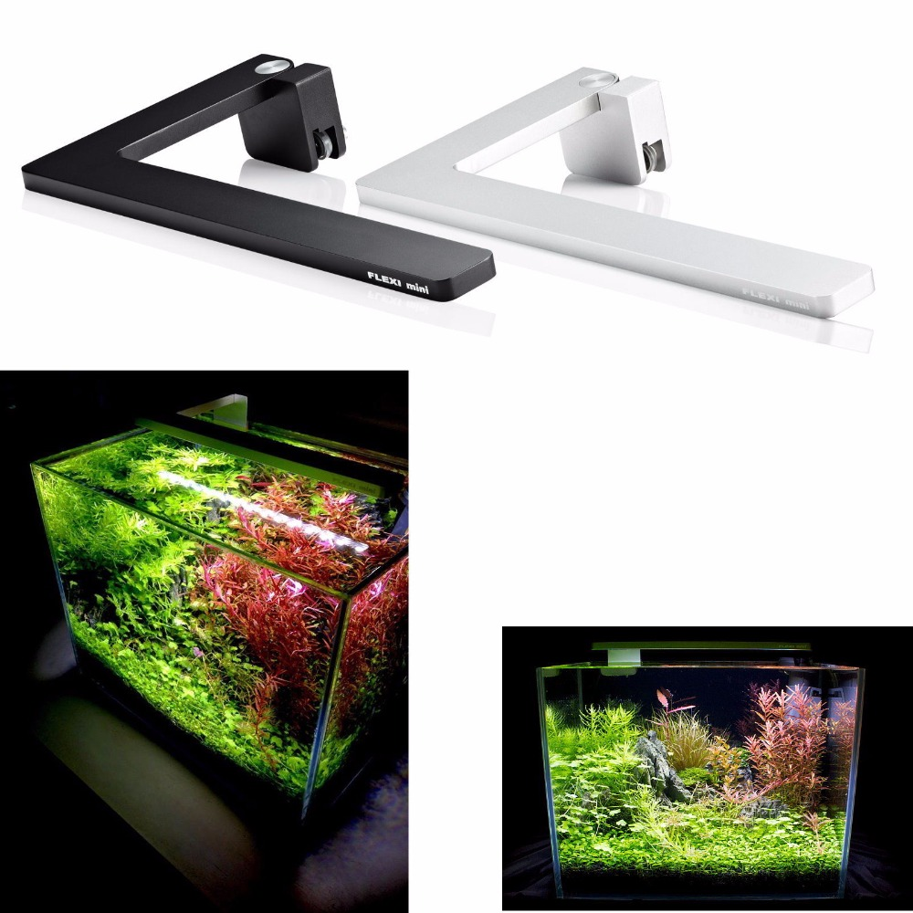 azoo led flexi mini nano light full spectrum black lighting aquarium fish tank in lightings from