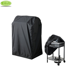 Black color BBQ cover 72x52x110H, waterproofed,dust proofed Barbecue Grill cover ,BBQ grill protective cover,CNSJMADE
