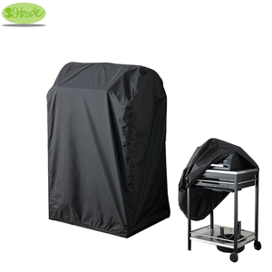 Image 1 - Black color BBQ cover 72x52x110H, waterproofed,dust proofed Barbecue Grill cover ,BBQ grill protective cover,CNSJMADE