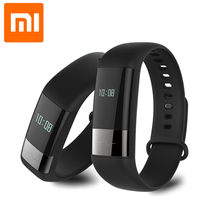 In Stock Original Xiaomi Amazfit Health Band Real-time Heart rate Monitor OLED Touch Screen Display Reminder Smart Bracelet(China)