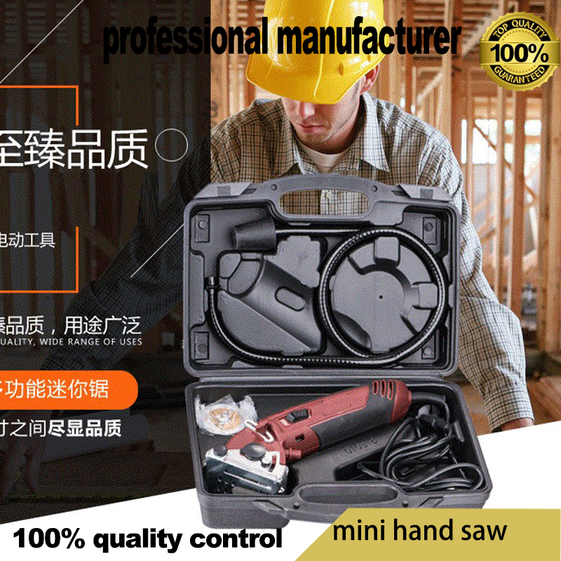 2018 new design mini saw tools as TV SHOW for home use multifunction tools with 3pcs saw blade one soft shaft freely