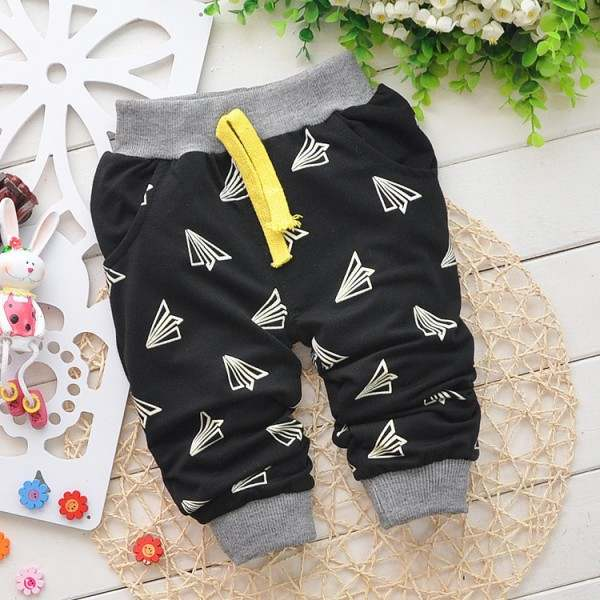 46b7721c8cd1e Online Shop 2016 new Spring Hot sale 0-2 years cartoon 4 colors cotton baby  pants 7-24 month baby boy pants children girls harem pants