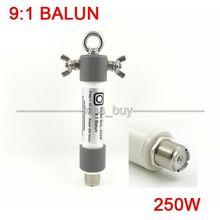 9:1 balun mini balun suportar 250w ssb para rádio presunto qrp frequenc: 1.0 54mhz