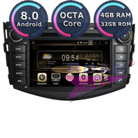 Roadlover Android 8.0 Car DVD Player For Toyota RAV4 2006 2007 2008 2009 2010 2011 2012 Stereo GPS Navigation Automagnitol 2 Din