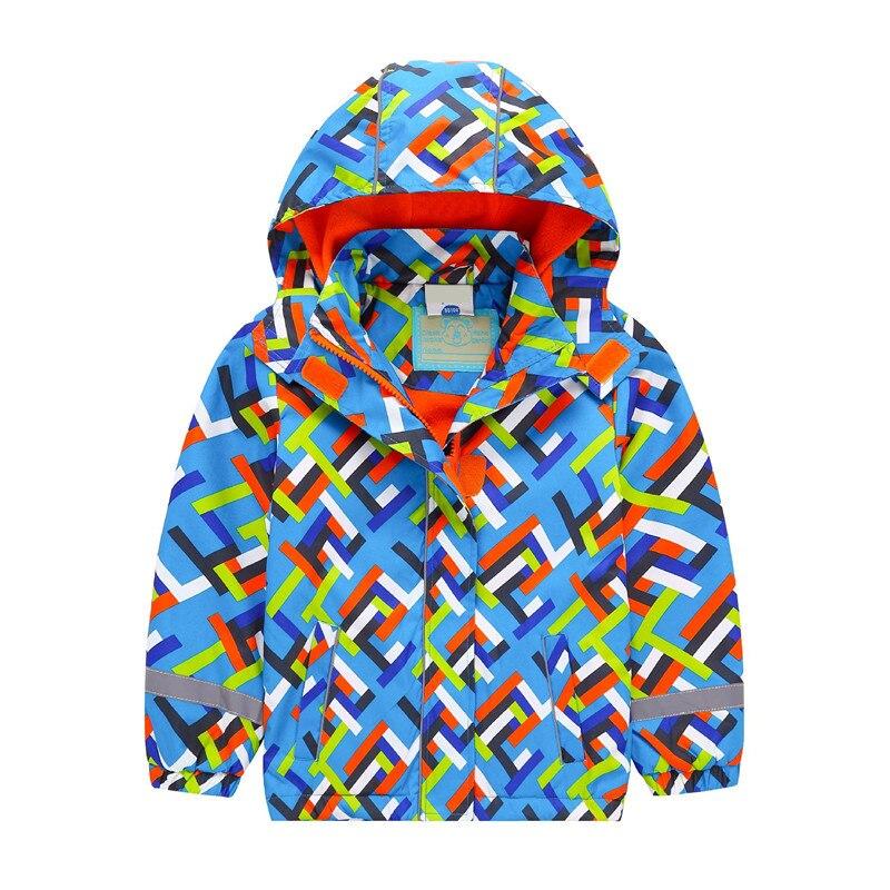 2018 детские куртки флис Весенняя детская верхняя одежда теплая детская спортивная одежда Водонепроницаемый ветрозащитный топы для мальчик...