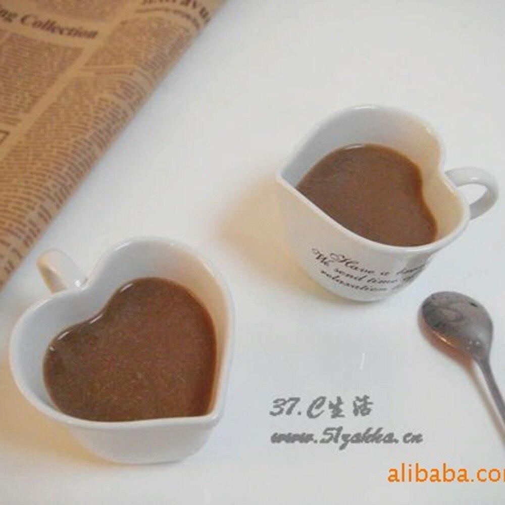 2Pcs/lot New KEYAMA English word pattern ceramics loving couple coffee cups Home decorative breakfast milk mugs 2Pcs 1 set Gifts