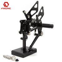 FOR BMW S1000RR 2009 2014 S1000RR / HP4 2009 2014 CNC Aluminum Adjustable Motorcycle Rearsets Rear Sets Foot Pegs Pedal Footrest
