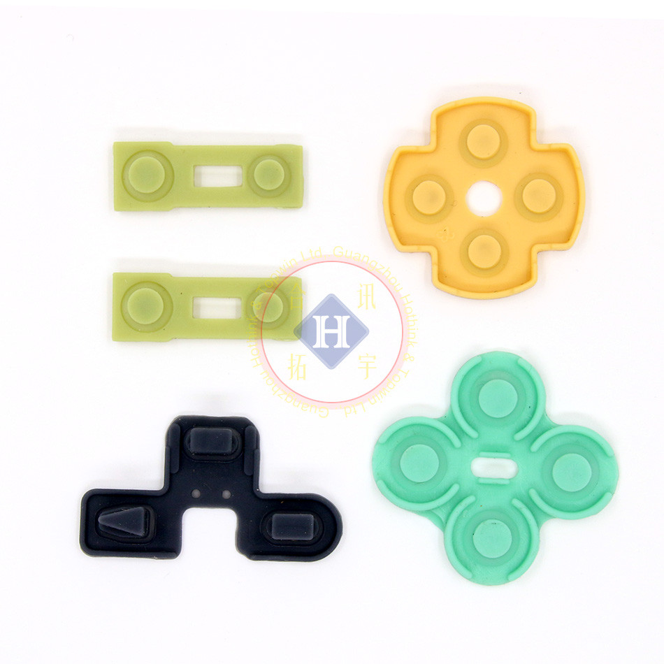 2sets Lot Replacement For Ps2 Controller D Pads Rubber Conductive Repair Parts Pcb Ribbon Circuit Board M Type R L Button In Accessories From Consumer Electronics On