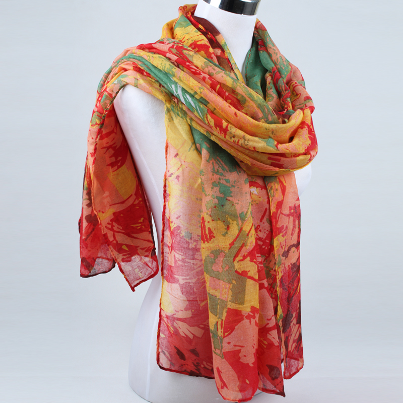 Kinross Cashmere's Women's Printed & Woven Scarves - Fall products. Kinross Cashmere is a fashion luxury cashmere clothing brand.