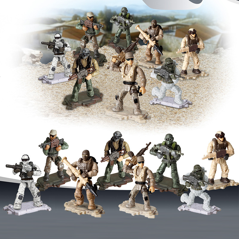 Gifts, War, Series, Army, set, Toys