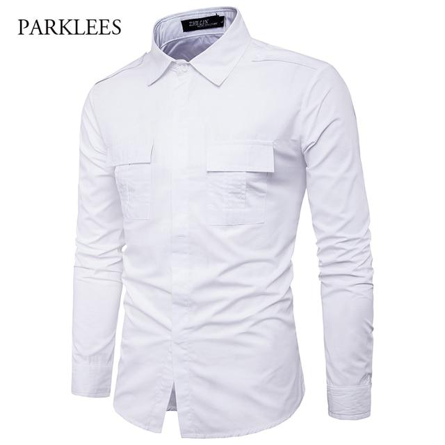 White Dress Shirts Men's Styles
