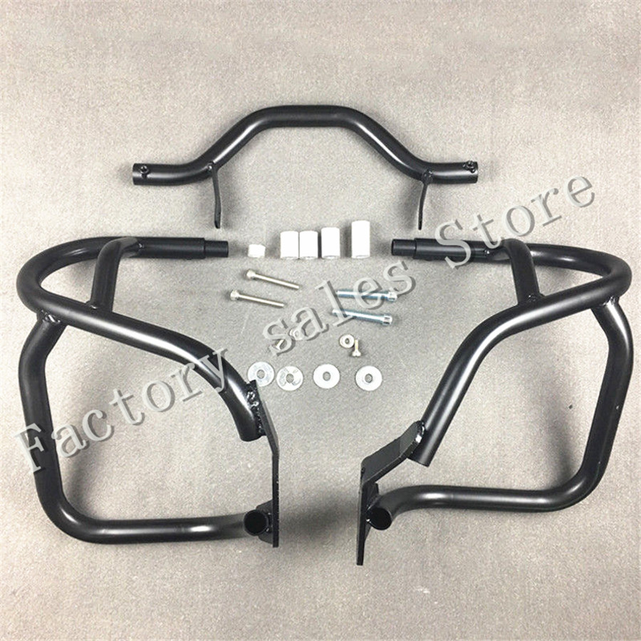 For BMW R1200GS R 1200GS 2004 2012 black 2004 2005 2006 2007 Crash Protection Bars Engine Guard Protective Frame R 1200 GS