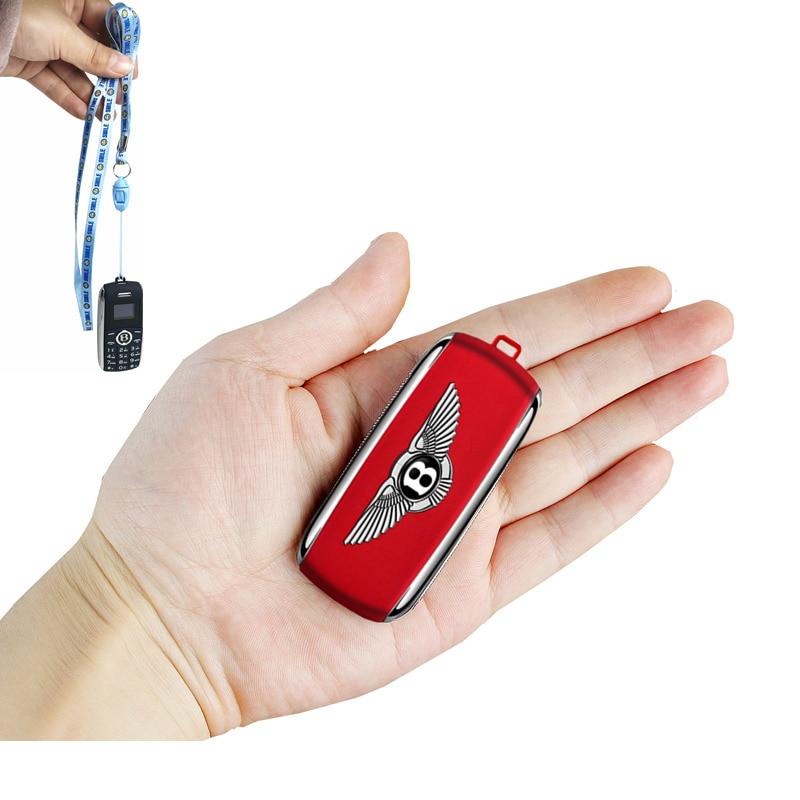 Mini Mobile Phone Dual Sim Smallest Cell Phone Unlocked  Bluetooth Dialer Children Mini Telephone MP3 Magic Voice