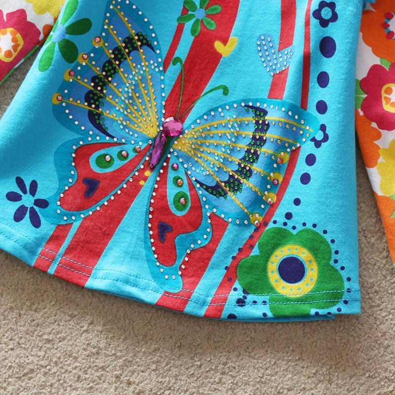 HTB1pEu1RXXXXXcCaXXXq6xXFXXXh - Girls Long Sleeve All Year T-Shirt, Long Sleeve, Cotton, Various Designs and Prints