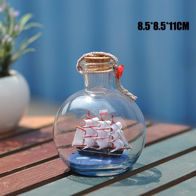 Տուն Դեկոր Միջերկրածովյան ոճով Mini Ship - Տնային դեկոր - Լուսանկար 4