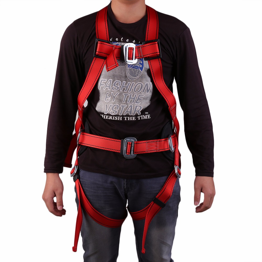 There Point Formula Rock Climbing Mountaineering Belt Rock Climbing Downhill Harness Rappel Rescue Safety Belt Body Safety Belt цена и фото