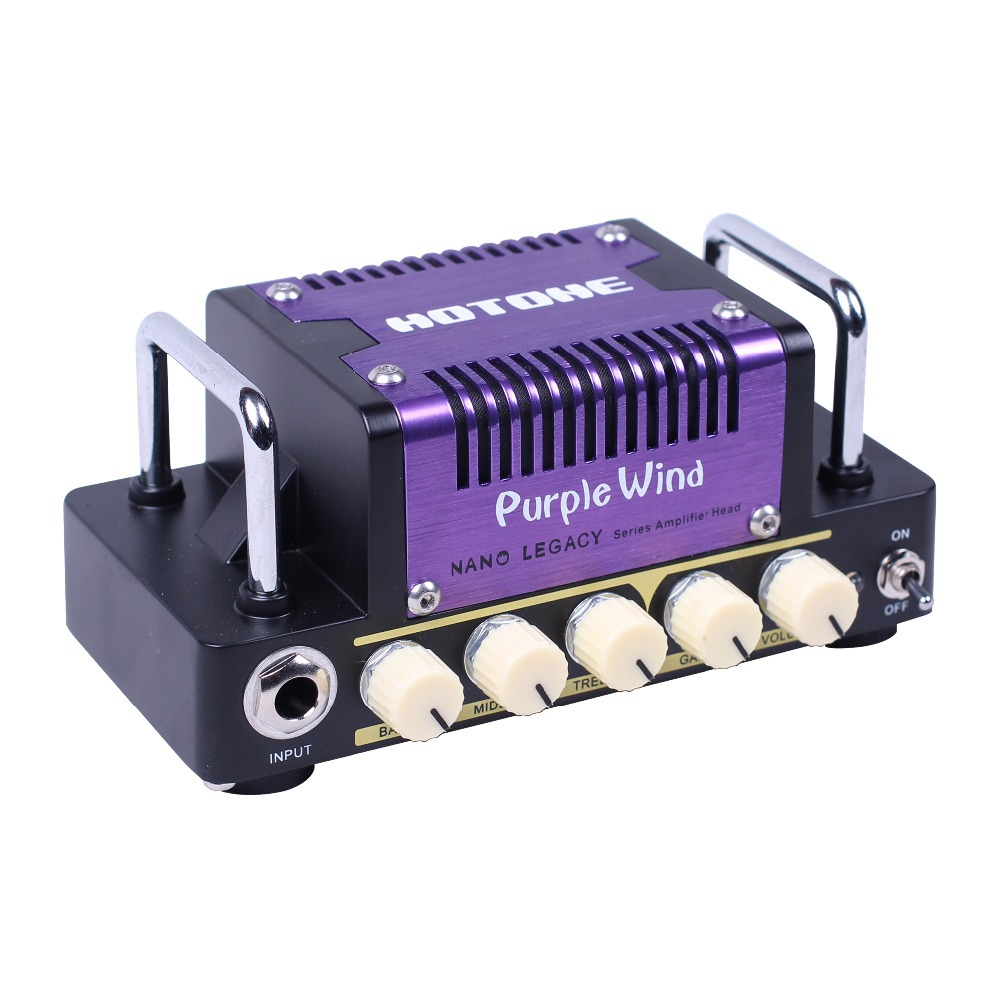 5w Output 3-band EQ Volume and Gain Controls Hotone Purple Wind AB Guitar Amplifier Head Inspired by Plexi SuperLead 1959 inhuman volume 3