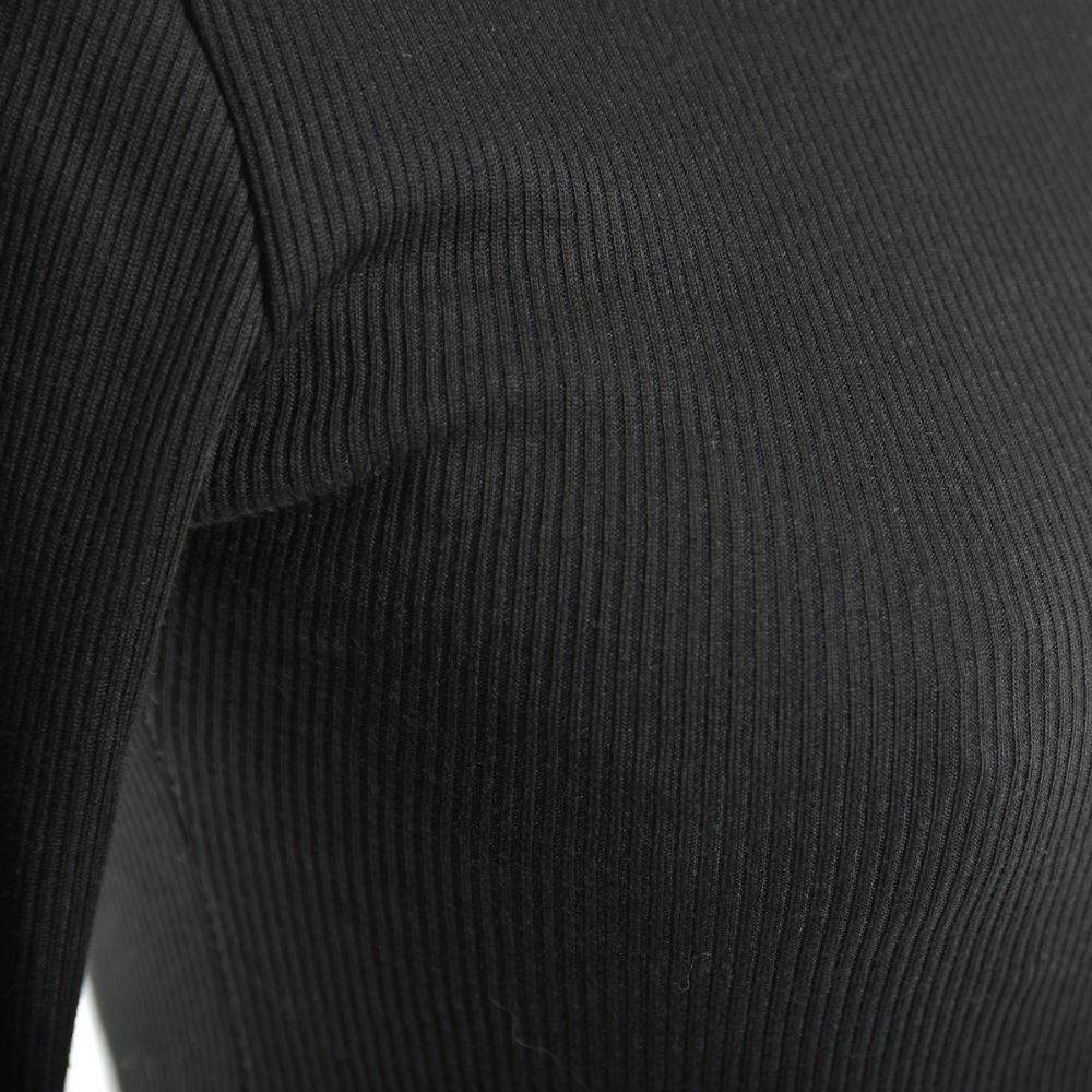 e6b66717780 Autumn Winter New Knit Slim Dress Turtleneck Long Sleeve Knee Length  Sweater Dresses Women Clothing Color Black Orange DY0-in Dresses from Women s  Clothing ...