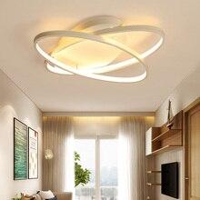 Living Room Bedroom Modern Led Ceiling Lights White Aluminum avize AC85-265V lamparas de techo LED Ceiling Lamp for children's bedroom
