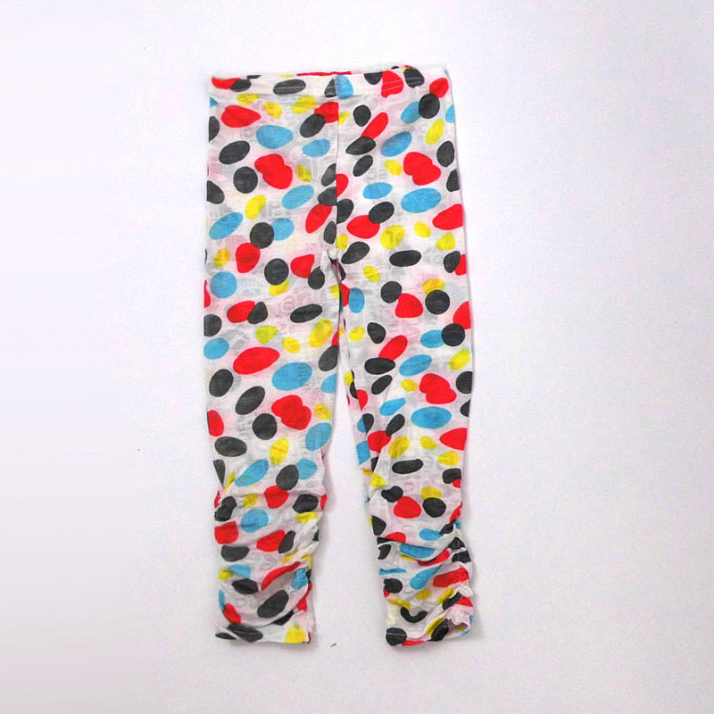 AD Skinny Colorful Girls Basic Pencil Pants Childrens Trousers Kids Clothing