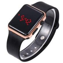 남자와 여자 스포츠 캐주얼 led 시계 남자 디지털 시계 남자 군사 실리콘 손목 시계 hodinky ceasuri relogio masculino