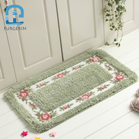 FURGERIN Floor Mat Bath rugs and carpets for home living room Rug Bathroom Carpet Kitchen Doormat for Entrance Door Outdoor rug