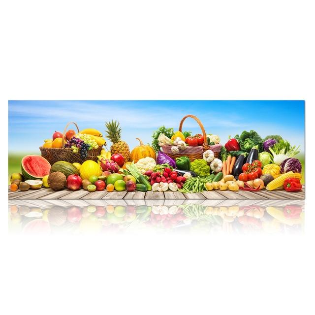 Satis Renkli Cesitli Meyve Sebze Duvar Resimleri Tuval Boyama
