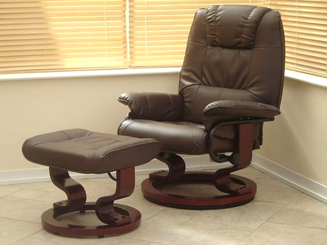Superieur Adjustable Leather Sofa Recliner Chair With Stool 8 Motor Massage U0026 Heat  Electric Modern Leisure