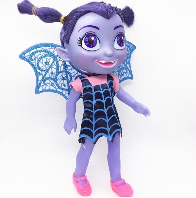 Большой Размеры vampirina Junior вамп Кукла со светом музыка подарки на день рождения фигурку Игрушечные лошадки для детей