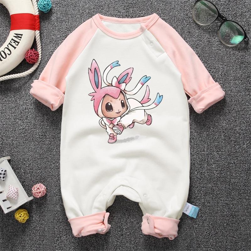 2017 Anime Lindo Bebé Recién Nacido Mameluco Infantil Bebé Niños - Ropa de bebé - foto 4