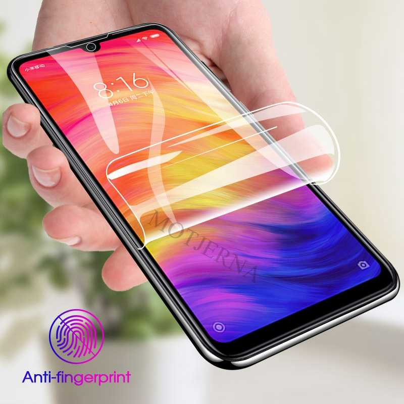 9D Clear Soft Hydrogel Film for Xiaomi 8 Lite Mi 9 SE Poco F1 A2 Redmi Note 7 6 Pro 6A Screen Protector Film Not Tempered Glass