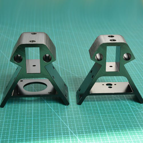 SWMAKER 2040 aluminum profile frame Bottom/Top vertex metal angle corners for DIY Kossel XXL 3D printer Black color