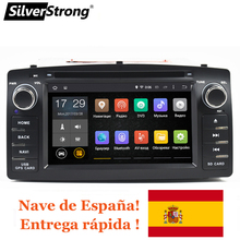 SilverStrong 2 Гб Оперативная память Android8.1 ips панели 2Din универсальный для автомобилей Corolla dvd для Toyota Corolla E120 Авто плеер автомобиля Радио