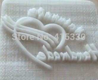 Heart Natural Handmade Soap Resin Stamp Seal Soap Mold Mould soap handmade resin soap stamp seal soap mold mould 1 97 x1 57