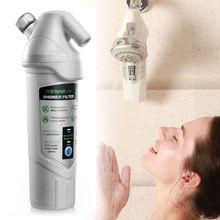 Vente chaude Miniwell L720 douche filtre à eau éliminer le chlore avec cartouche de carbone logement kdf médias heavy metal spa salle de bains