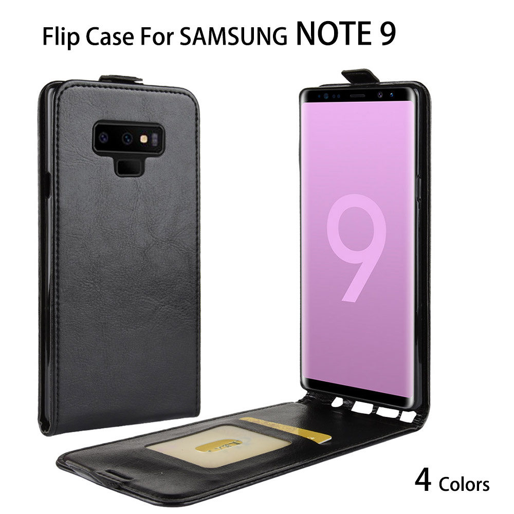 NOTE 9 Leather Flip Cover Wallet Case For Samsung Galaxy Note 9 N960N Smartphone Back Cover Case Wallet Case For SAMSUNG NOTE9