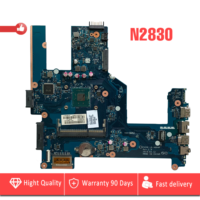 YTAI N2830 CPU for HP compaq 15 15-R 15T-R 15-S laptop motherboard 764104-501 ZSO50 LA-A994P N2830 cpu mainboard fully tested набор чайный olaff metal stand cm f13ms 028