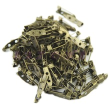 100pcs/lot 20mm DIY Safety Pins Brooch Jewelry Accessory 3Co