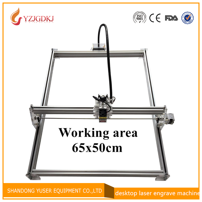 500mW Mini desktop DIY Laser engraving engraver cutting machine Laser Etcher CNC print image of 50 X 65 cm Laser Engraver lonati socks machine use belt 0341044 lonati spare part 0341044