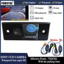 Fuwayda беспроводной SONY CCD автомобиля обратный заднего вида Камера для Фольксваген Tiguan TOUAREG поло САНТАНА Porsche Cayenne Skoda Fabia