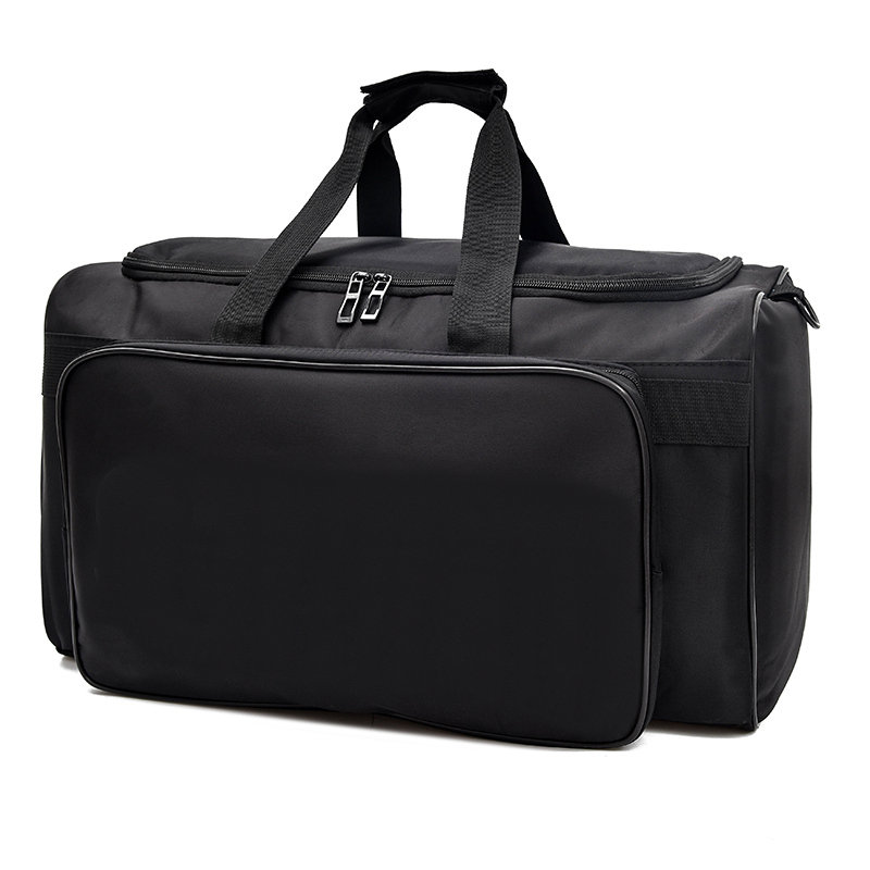 2018 New Big Men Travel Bag Large Capacity Women Hand Luggage Duffle Bag Black Weekend Bags Multifunctional Travel Shoulder Bag travel luggage bag tri glide button black 10 piece pack