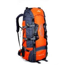 Large 80L Men's Backpacks Waterproof Nylon Travel Backpack Bag Women Travel Rucksack Bag Backpack