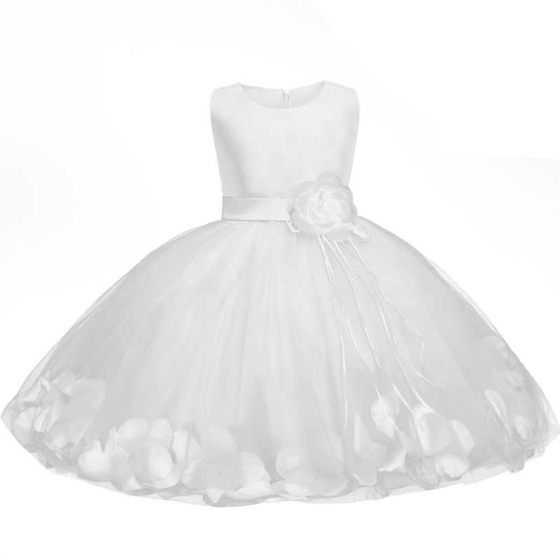 3ea3867db0dd6 Newborn Baby Girls 1 2 Years Birthday Clothing Evening Dress Toddler Kids  Ball Gown for Wedding Party Children Princess Vestido