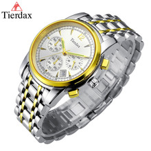 Relogio Masculino Male Clock Mens Watchs Top Brand Luxury Steel Watch Band 24 Hours System 50M Waterproof Chronograph Calendar