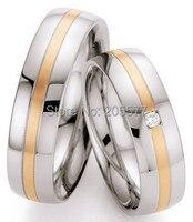 Роскошные ручной работы цвета розового золота покрытие изделия западный годовщина свадьбы полосы ювелирные изделия кольца наборы для обув