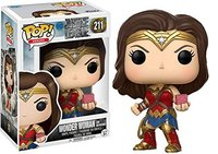 Exclusive FUNKO POP Official DC Heroes Justice League Wonder Woman (Motherbox) #211 Vinyl Action Figure Collectible Model Toy